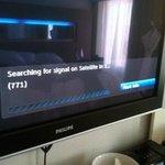 bad reception on TV