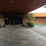 Outside the lobby