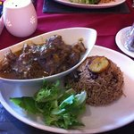 mixed lamb and goat curry