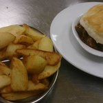 Choice of Homemade Pies with Handcut Chunky Chips