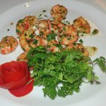 San Remo Local Shrimps, succulent and parsley showered!
