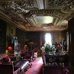 A sitting room at Prestonfield