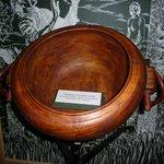 Replica of poplar cauldron
