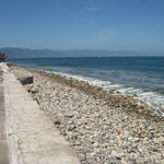 The beach view from Malecon
