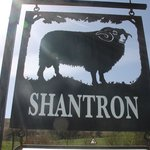 Shantron Sign at end of Road