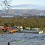 Shantron Farm overlooking Loch Lomond