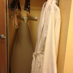 2 robes provided
