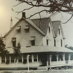 Crescent Lodge in 1947
