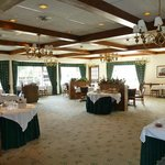 Banquet Room at the Crescent Lodge