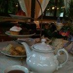 O famoso chá da tarde