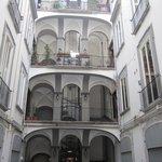Courtyard - Il Viaggiatore on 2nd floor