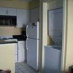 Kitchen w/ Washer & Dryer