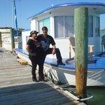 Karen and Sergio departing :(