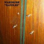 """Wardrobe """"handles"""""""