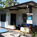 Entrance of Darwin Hostel