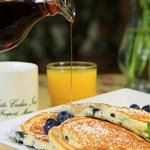 Maine Blueberry Pancakes