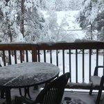 Balcony - Love the Snow!