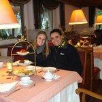 Chá da tarde no hotel Ritta Hoppner