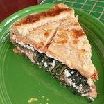 Vegetarian Pie, wonderful slice