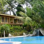 guest house by pool