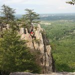 View from Crowders Mountain Overlook Area