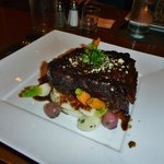 Braised Short Ribs on Whipped Potatoes