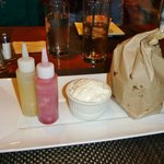 Dessert: Churro tots in the bag