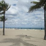 Fort Lauderdale Beach near the hotel