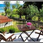 Balcony sea view