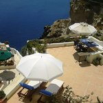 Villa Hercules -the big private terrace-