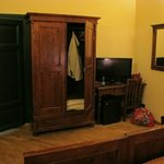 Armoir and desk