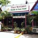 Entrance of Thai Kitchen in Yangon