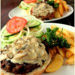 Specialty burger - the famous Alfredo Burger