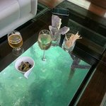 glass bottom floor - very romantic