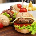 Three Mini Burgers