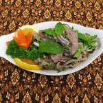Nam Toak (beef salad)