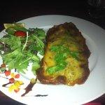 Seabass dish