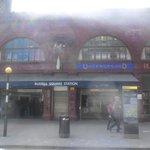 station de métro RUSSEL