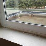 vue extérieure + calfeutrage fenêtre