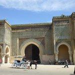 Bab Mansour Afrika`s größtes Stadttor