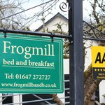 The Frogmill Sign