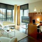 Junior suite superior living roon