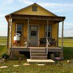 Shack-Up Inn - our shack outside