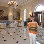 Hotel Du Cap Lobby