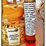 Home made Muesli (no sugar) and organic local honey