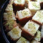 Sweet Basboosa Honey Dessert Cakes