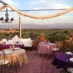 le dîner sur la terrasse : un moment exceptionnel