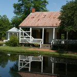 One of the homes along the bayou