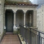 Room Balcony and Portico