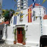 churh in Mykonos Town